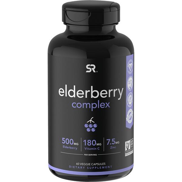 Elderberry Complex, 60 Veggie Capsules