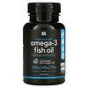 Sports Research, Omega-3 Fish Oil, Triple Strength, 1,250mg , 60 Softgels