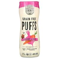Serenity Kids, Grain Free Puffs, Carrot & Beet, 1.5 oz (43 g)