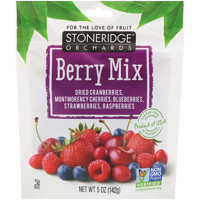 Купить Ягодная смесь, смесь цельных сушеных ягод, 142г (5унций)