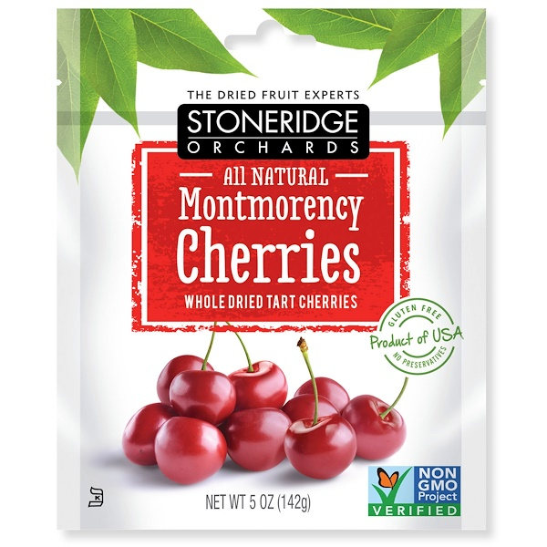 Stoneridge Orchards, Montmorency Cherries, Whole Dried Tart Cherries, 5 oz (142 g)