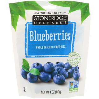 Stoneridge Orchards, ブルーベリー、 ホールドライブルーベリー、 4 oz (113 g)