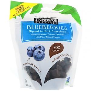 Стоунридж Орчардс, Blueberries, Dipped in Dark Chocolate, 70% Cocoa, 5 oz (142 g) отзывы