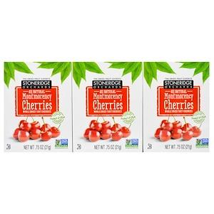 Стоунридж Орчардс, Montmorency Cherries, Whole Dried Tart Cherries, 6 Pack, 0.75 oz (21 g) Each отзывы покупателей