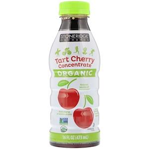 Стоунридж Орчардс, Organic, Tart Cherry Concentrate, 16 fl oz (473 ml) отзывы покупателей