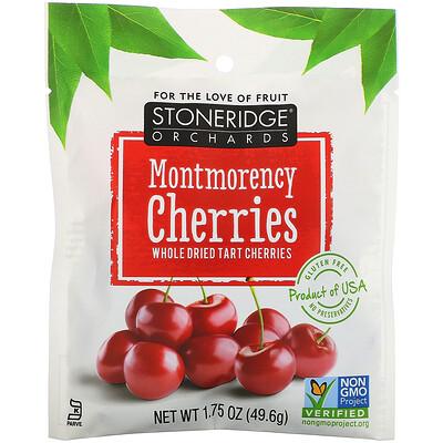 Купить Stoneridge Orchards Montmorency Cherries, Whole Dried Tart Cherries, 1.75 oz(49.6 g)