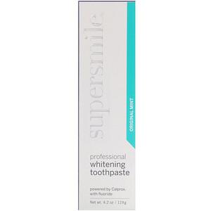 Supersmile, Professional Whitening Toothpaste, Original Mint, 4.2 oz (119 g) отзывы
