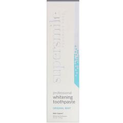 Supersmile, 不含氟專業白皙牙膏,原味薄荷,4.2 盎司 (119 克)