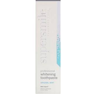 Supersmile, Professional Whitening Toothpaste, Fluoride Free, Original Mint, 4.2 oz (119 g)