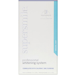 Supersmile, Professional Whitening System, Toothpaste + Accelerator, Original Mint, 7.8 oz  (221 g) отзывы