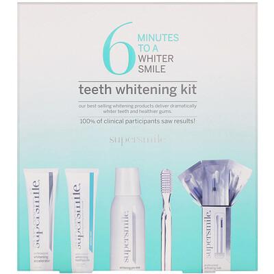 Supersmile 6 минут до белоснежной улыбки, набор для отбеливания зубов, 5 компонентов