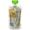 Sprout Organic, Baby Food, 6 Months & Up, Peach Oatmeal with Coconut Milk & Pineapple, 3.5 oz (99 g)
