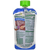 Sprout Organic, Organic Smoothie, Toddler, Blueberry Banana wit Coconut Milk Veggies & Flax Seed , 4 oz (113 g)