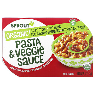 Sprout Organic, 義大利面和蔬菜醬,12 個月及以上,5 盎司(142 克)