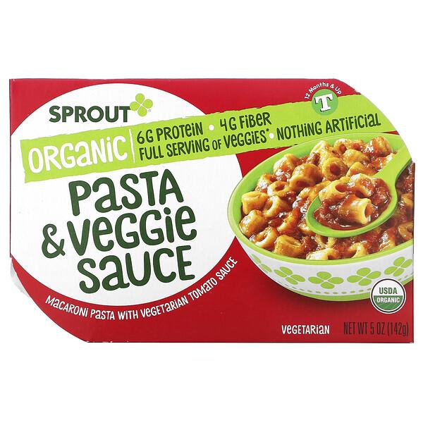 Pasta & Veggie Sauce, 12 Months & Up, 5 oz ( 142 g)