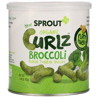 Sprout Organic, Curlz, брокколи, 42 г (1,48 унции)