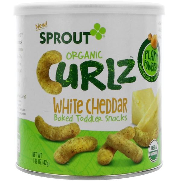 Curlz, White Cheddar, 1.48 oz (42 g)