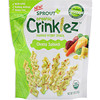 Sprout Organic, Crinklez, Popped Veggie Snack, Cheesy Spinach, 1.48 oz (42 g)