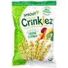 Sprout Organic, Crinklez,膨化鹰嘴豆和蔬菜零食,12 个月及以上,切达奶酪和菠菜,1.484 盎司(42 克)