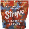 Stryve Foods, Biltong Sticks, Mesquite BBQ Seasoned, 16 oz (454 g)