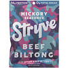 Stryve Foods, Beef Biltong, Air-Dried Beef Slices, Hickory Seasoned, 2.25 oz (64 g)
