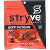 Stryve Foods, Protein Snacks Beef Biltong, Peri Peri, 2.25 oz (64 g)