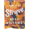 Stryve Foods, Beef Biltong, Air-Dried Beef Slices, Teriyaki, 2.25 oz (64 g)