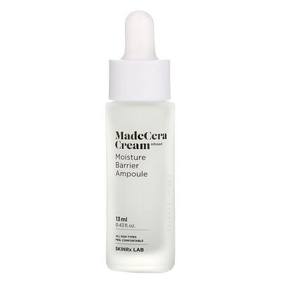 SkinRx Lab MadeCera Cream, Moisture Barrier Ampoule, 0.43 fl oz (13 ml)