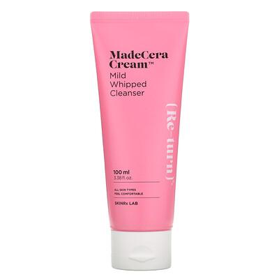 Купить SkinRx Lab MadeCera Cream, Mild Whipped Cleanser, 3.38 fl oz (100 ml)