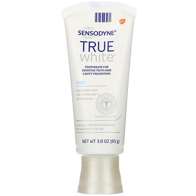Купить Sensodyne True White Toothpaste, Mint, 3.0 oz (85 g)
