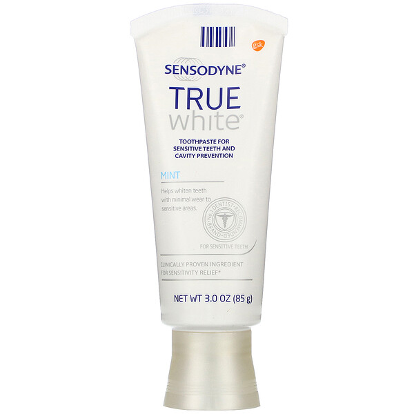 True White Toothpaste, Mint, 3.0 oz (85 g)