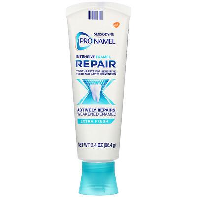 Купить Sensodyne ProNamel, Intensive Enamel Repair Toothpaste, Extra Fresh, 3.4 oz (96.4 g)
