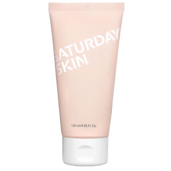 Saturday Skin, Rise + Shine, Gentle Cleanser,  4.05 fl oz (120 ml)