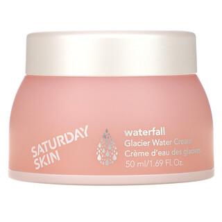 Saturday Skin, Waterfall, Glacier Water Cream, 1.69 fl oz (50 ml)