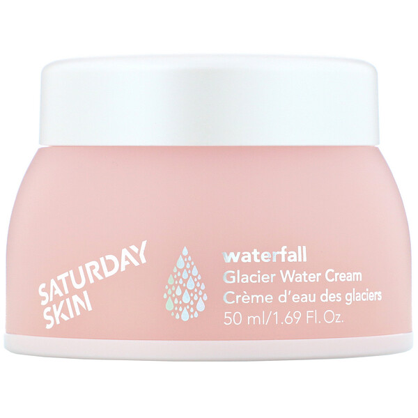 Saturday Skin, Waterfall, 글래시어 워터 크림, 50ml(1.69fl oz)