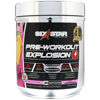 Pre-Workout Explosion, розовый лимонад, 210 г - фото