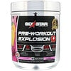 Six Star, Pre-Workout Explosion, Pink Lemonade, 7.41 oz (210 g)