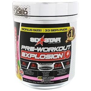 Six Star, Pre-Workout Explosion, розовый лимонад, 231 г (8,16 унций)