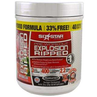 Six Star, Pre-Workout Explosion, Watermelon, 7.91 oz (224 g)