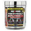 Six Star, Pre-Workout Explosion, Ripped, Peach Mango, 7.91 oz (224 g)