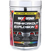 Six Star, Pre-Workout Explosion, Rainbow Candy, 15.66 oz (444 g)