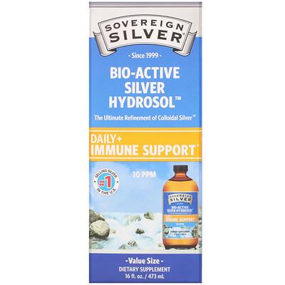 Sovereign Silver Bio-Active Silver Hydrosol, 10 мкг/мл, 473 мл (16 жидк. унций)  - купить со скидкой