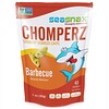 SeaSnax, Chomperz, Chips Crujientes de Algas Marinas, Barbecue, 1 oz (30 g)
