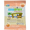 SeaSnax, Organic Premium Roasted Seaweed Snack, Toasty Onion, 0.54 oz (15 g)