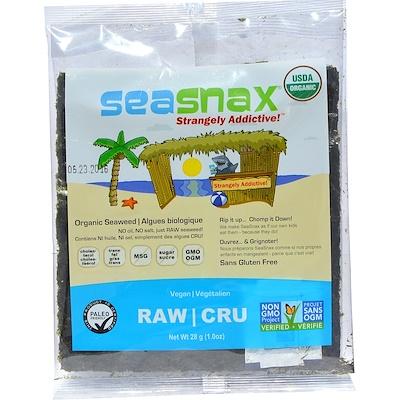 Raw Seaweed, 10 sheets - 1 oz (28 g)