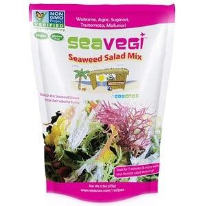 Сиснэкс, SeaVegi, Seaweed Salad Mix, 0.9 oz (25 g) отзывы покупателей