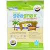 SeaSnax, Wasabi, Roasted Seaweed Snack, 5 sheets - .54 oz (15 g)