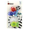 Sassy,  Catch 'n Count Net, развивающие игрушки для купания, от 6месяцев, набор из 4предметов