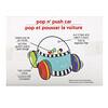 Sassy, InspiretheSenses, Popn'PushCar, машинка для детей в возрасте 6–24месяца, 1машинка