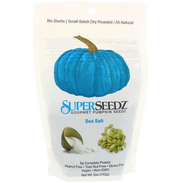 SuperSeedz, 美味南瓜籽,海鹽味,5盎司(142克)